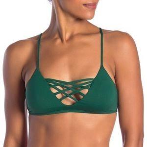 Brand new L Space Jaime bikini top size Medium